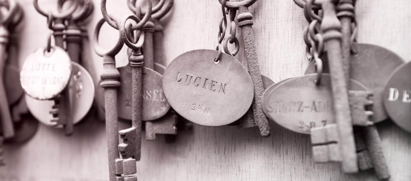 clés de chapelle groupe La Maison Rebillon
